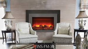 Electric Fireplace Insert Modern Flames Zcr 3824 Electric Fireplace Insert