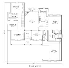 house plan 45 8 62 4 2501 3000 s f