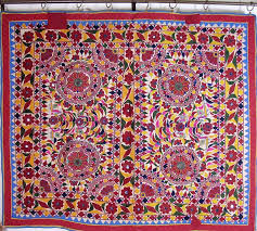 Wall Rugs Hanging Kutch Embroidery Furnishing Textile Wall Hanging Art