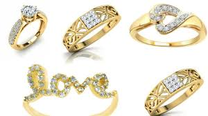 girls gold rings images Engagement gold rings with diamond stone for girls diamond jpg