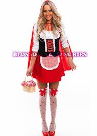 Red Riding Hood Halloween Costume Kids J31 Ladies Red Riding Hood Storybook Fancy Dress Halloween