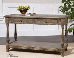 console table distressed console table zuo era vintage papillion