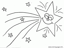 christmas star coloring pages free printable