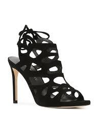 stuart weitzman ankle length sandals black women shoes amazing