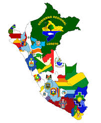 6 Flags Map File Flag Map Of Regions Of Perú Png Wikimedia Commons