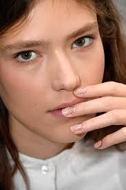 the best manicures and nail art at nyfw spring 2017 allure