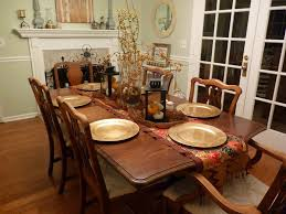 dining restaurant table decoration ideas round dining table