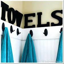 bathroom towel decorating ideas awesome bath towel hooks bathroom towel hooks ideas bathroom towel