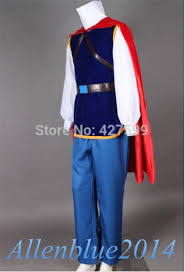 Prince Charming Halloween Costumes Fairy Tales Snow White Prince Charming Cosplay Costume Men
