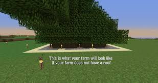 How To Build A Horse Barn In Minecraft How To Build A Tree Farm In Minecraft For Easy Access To All Types
