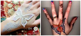 butterfly henna mehndi designs for adworks pk