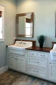 bathroom interior farmhouse bathroom vanity and light farm style