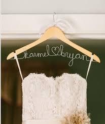 wedding dress hanger doleenoted diy tutorial personalized wedding dress hanger