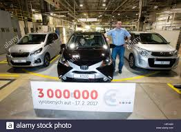 toyota motor corporation ovcary czech republic 17th feb 2017 the kolin plant stock