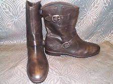 ugg womens frances boots black ugg australia buckle mid calf boots for ebay