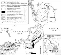 Calabria Italy Map by Detrital Modes Of The Ionian Forearc Basin Fill Oligocene