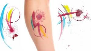 watercolor tattoo watercolor feather tattoo water color