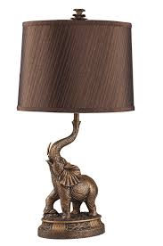 Ore International Table Lamp Amazon Com Ore International 8025 27 Inch Bronze Elephant Table