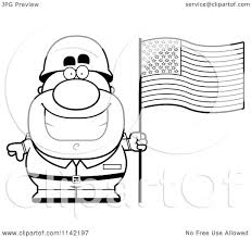 army soldier coloring pages cartoon clipart of a black and white male army soldier with an