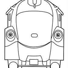 frostini from chuggington coloring page frostini from chuggington