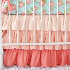light pink ruffle bed skirt caden lane