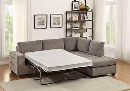 Chenille Sleeper Sofa Gray Chenille Sleeper Sofa Chaise Sectional Living Room