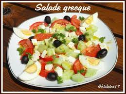 ghislaine cuisine recettes de salade grecque de ghislaine cuisine