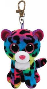 banba toymaster ty beanie boos dotty leopard plush clip