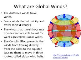 wind and wind patterns chapter 2 2 guided notes 11 13 13 ppt