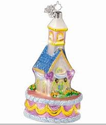christopher radko wedding cake chapel ornament wedding
