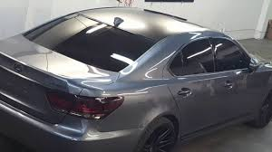 lexus wrapped lexus ls 460 satin black vinyl wrap youtube
