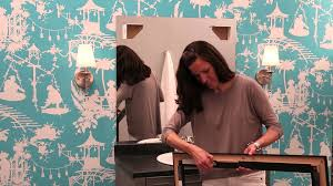 Installing Bathroom Mirror by See How To Frame A Bathroom Mirror Mirrormate Frames Frame