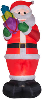 gemmy airblown inflatables colossal santa w gifts 16 ft