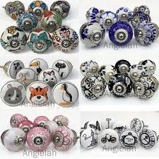 coloured door knobs ebay