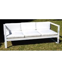 divano giardino divano da giardino montreal con cuscino bianco di preda
