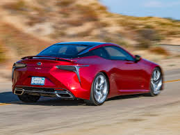 red lexus 2018 2018 lexus lc 500 quick take kelley blue book