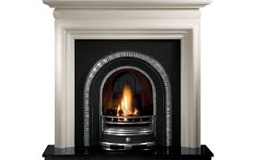 henley and asquith limestone fireplace