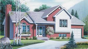 bi level house plans with attached garage split level ranch house plans builderhouseplans