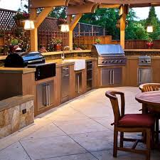 kitchen well designed and quality built outdoor kitchen and
