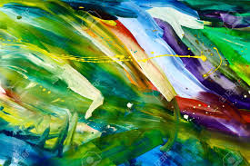 abstract chaos painting design wallpaper painted by me stock photo