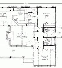 Two Bedroom Granny Flat Floor Plans 100 Two Bedroom Cottage House Plans Top 25 Best Cottage