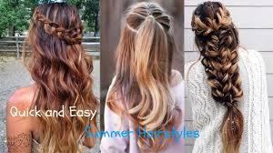 How To Make Hairstyles For Girls by Quick And Easy Hairstyles For Long Hair Best Hairstyles For Girls