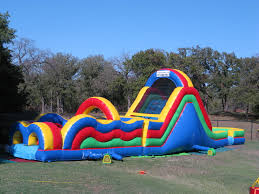 obstacle courses jump houses dallas