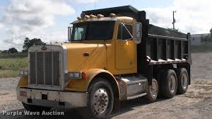 peterbilt dump truck 1989 peterbilt 379 dump truck item l1964 sold july 20 c