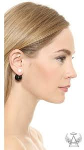 sided earrings jewels ear earrings sided earrings two tone