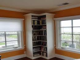 Ceiling To Floor Bookshelves L Shaped Bookshelf Roselawnlutheran