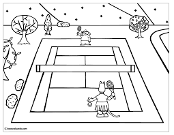 throw ball coloring page