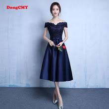 navy blue prom dresses promotion shop for promotional navy blue