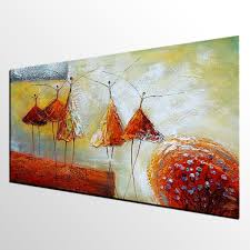 modern art living room wall art abstract art ballet dancer