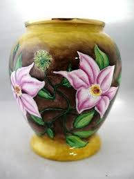 Moorcroft Clematis Vase Moorcroft Enamels